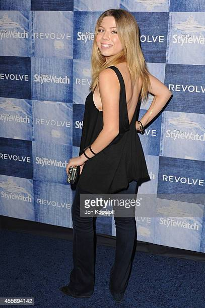 Actress Jennette McCurdy arrives at the People StyleWatch 4th Annual Denim Awards Issue at The Line on September 18 2014 in Los Angeles California