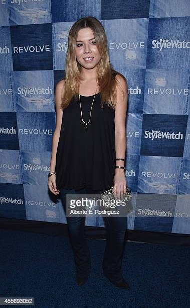 Actress Jennette McCurdy attends the People StyleWatch Denim Event at The Line on September 18 2014 in Los Angeles California