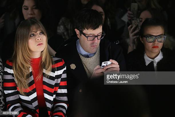 Actress Jennette McCurdy Teen Vogue Style Features Director Andrew Bevan and Veronica Chu attend the Noon By Noor fashion show during MercedesBenz...