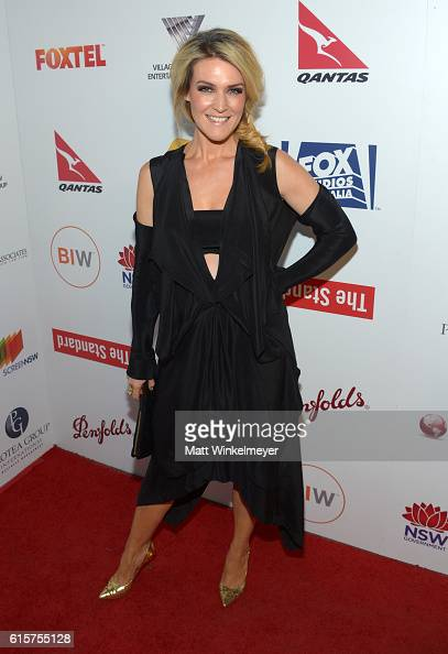 Actress Jenni Baird attends Australians In Film's 5th Annual Awards Gala at the NeueHouse Hollywood on October 19 2016 in Los Angeles California