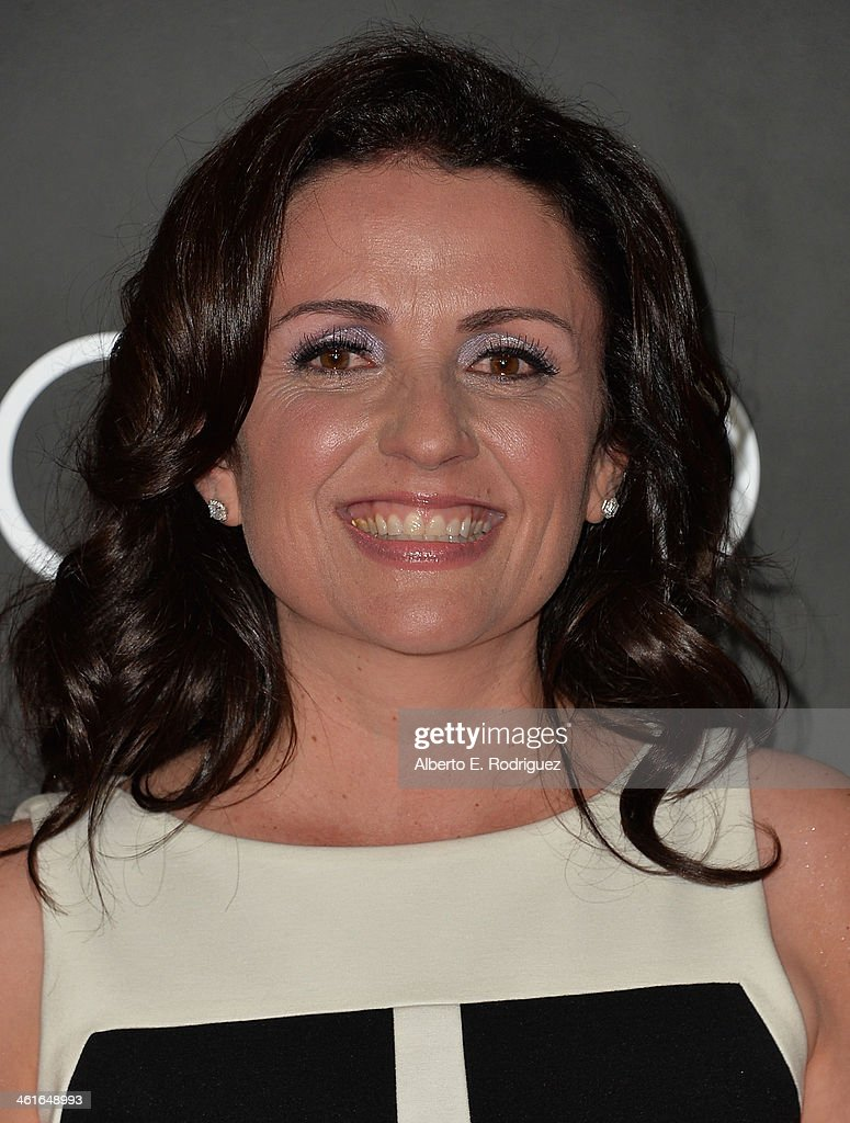 Actress Jenni Pulos arrives to Audi Celebrates Golden Globes Weekend at Cecconi's Restaurant on January 9, 2014 in Los Angeles, California.