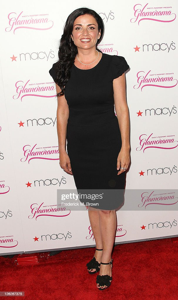 Actress Jenni Pulos attends the 29th Annual Macy's Passport Presents Glamorama 2011 at The Orpheum Theatre on September 23, 2011 in Los Angeles, California.