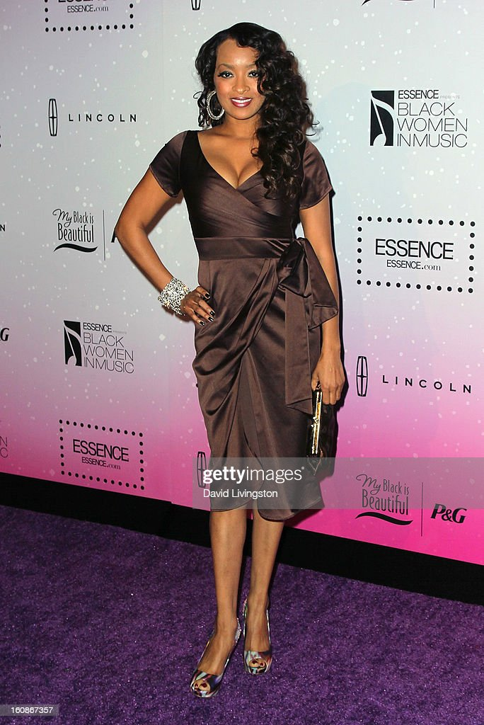 Actress Jennia Fredrique attends the 4th Annual ESSENCE Black Women In Music honoring Lianne La Havas and Solange Knowles at Greystone Manor Supperclub on February 6, 2013 in West Hollywood, California.
