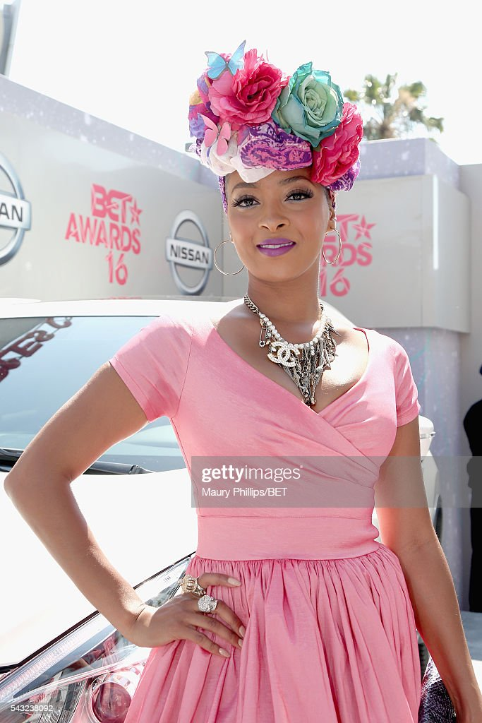 Actress <a gi-track='captionPersonalityLinkClicked' href=/galleries/search?phrase=Jennia+Fredrique&family=editorial&specificpeople=5578088 ng-click='$event.stopPropagation()'>Jennia Fredrique</a> attends the Nissan red carpet during the 2016 BET Awards at the Microsoft Theater on June 26, 2016 in Los Angeles, California.