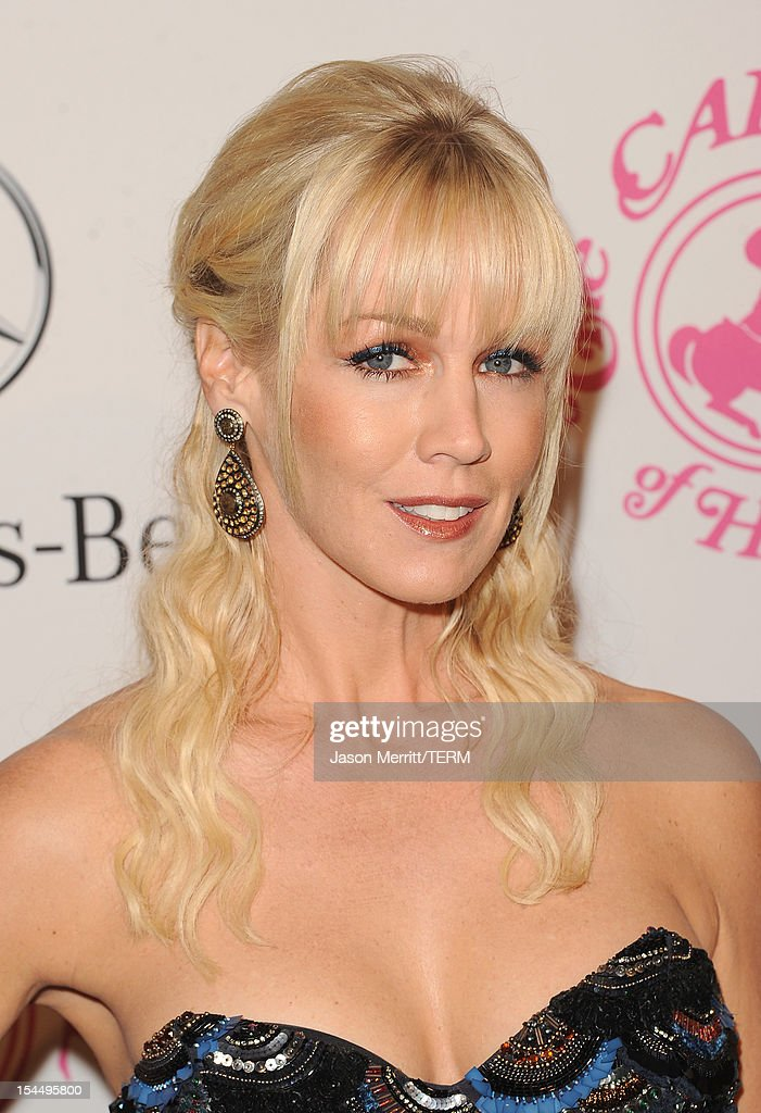 Actress Jennie Garth arrives at the 26th Anniversary Carousel Of Hope Ball presented by Mercedes-Benz at The Beverly Hilton Hotel on October 20, 2012 in Beverly Hills, California.