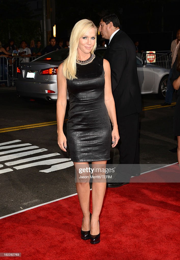 Actress Jennie Garth arrives at the premiere of Open Road Films' 'End of Watch' at Regal Cinemas L.A. Live on September 17, 2012 in Los Angeles, California.
