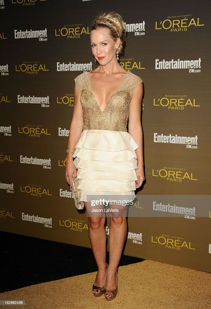 Actress Jennie Garth attends the 2012 Entertainment Weekly pre-Emmy party at Fig & Olive Melrose Place on September 21, 2012 in West Hollywood, California.