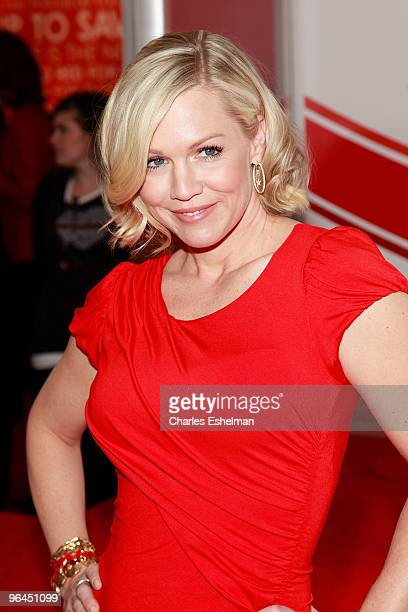 Actress Jennie Garth attends the Go Red For Women 'Speak Up' casting call at Macy's Herald Square on February 5 2010 in New York City