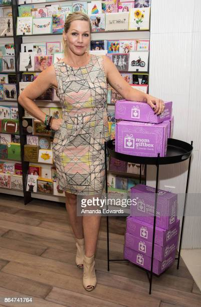 Actress Jennie Garth launches her MomGiftBox at Papyrus on October 21 2017 in Los Angeles California