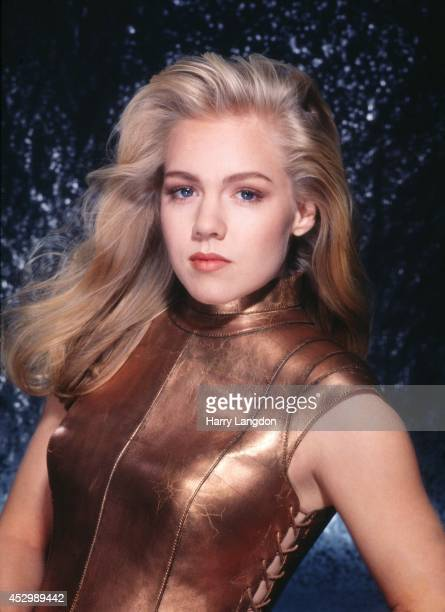 Actress Jennie Garth poses for a portrait in 1993 in Los Angeles California