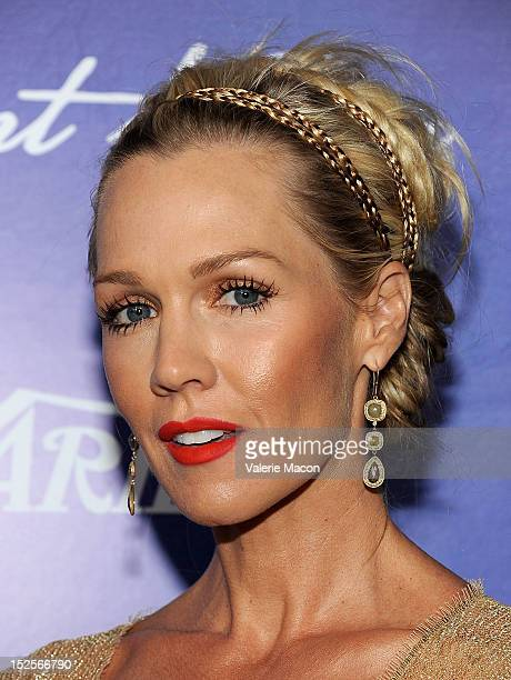Actress Jennie Grath arrives at the Variety And Women In Film PreEmmy Event at Scarpetta on September 21 2012 in Beverly Hills California