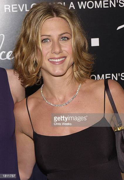 Actress Jennifer Aniston arrives at the 10th Annual Fire Ice Ball December 11 2000 at the Beverly Hilton in Beverly Hills CA