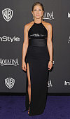 Actress Jennifer Aniston arrives at the 16th Annual Warner Bros And InStyle PostGolden Globe Party at The Beverly Hilton Hotel on January 11 2015 in...