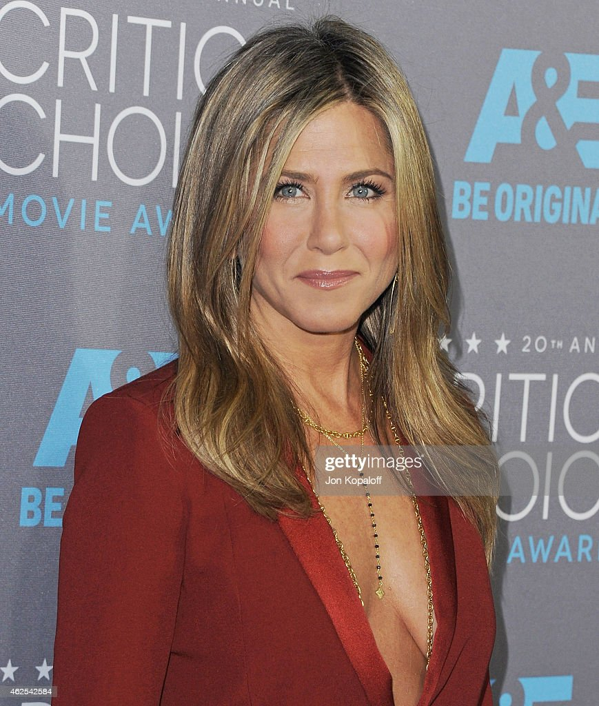 Actress Jennifer Aniston arrives at the 20th Annual Critics' Choice Movie Awards at Hollywood Palladium on January 15 2015 in Los Angeles California