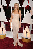Actress Jennifer Aniston arrives at the 87th Annual Academy Awards at Hollywood Highland Center on February 22 2015 in Hollywood California