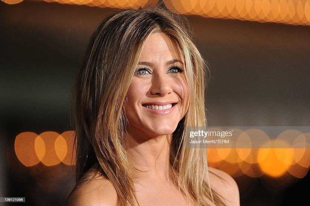 Actress Jennifer Aniston arrives at the premiere of Universal Pictures' 'Wanderlust' held at Mann Village Theatre on February 16 2012 in Westwood...