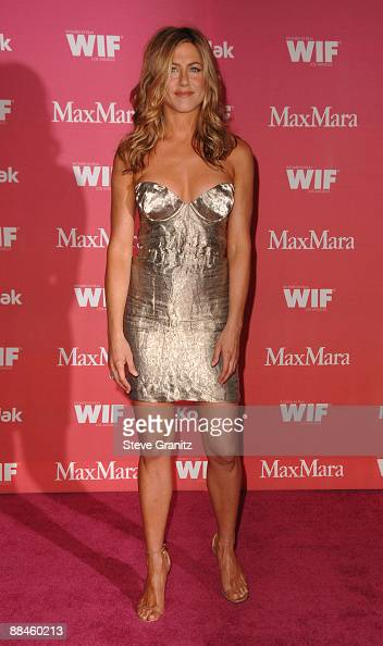 Actress Jennifer Aniston arrives at Women In Film's 2009 Crystal Lucy Awards held at the Hyatt Regency Century Plaza on June 12 2009 in Century City...
