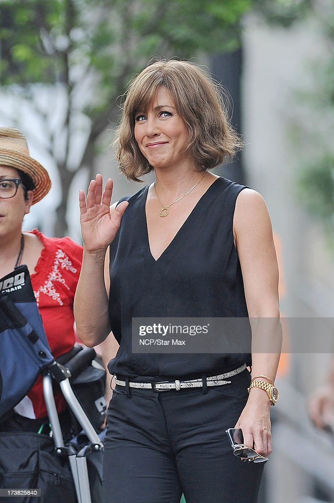 Actress Jennifer Aniston as seen on July 17, 2013 in New York City.