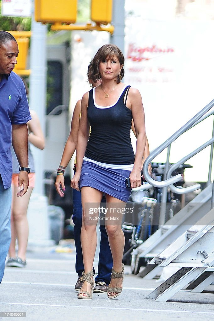 Actress <a gi-track='captionPersonalityLinkClicked' href=/galleries/search?phrase=Jennifer+Aniston&family=editorial&specificpeople=202048 ng-click='$event.stopPropagation()'>Jennifer Aniston</a> as seen on July 19, 2013 in New York City.