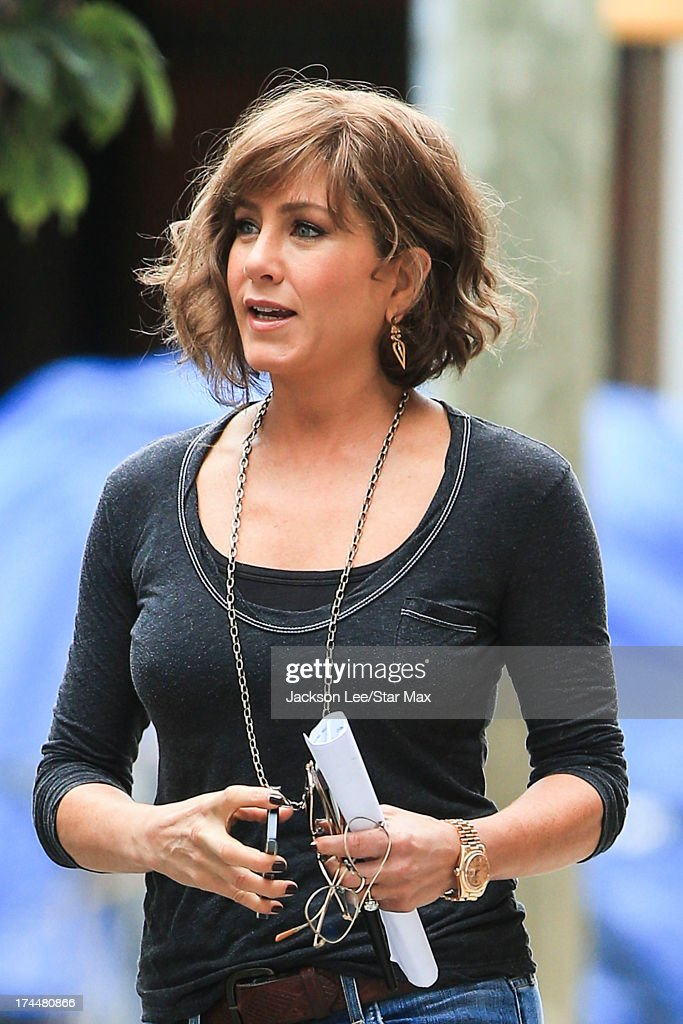 Actress <a gi-track='captionPersonalityLinkClicked' href=/galleries/search?phrase=Jennifer+Aniston&family=editorial&specificpeople=202048 ng-click='$event.stopPropagation()'>Jennifer Aniston</a> as seen on July 25, 2013 in New York City.