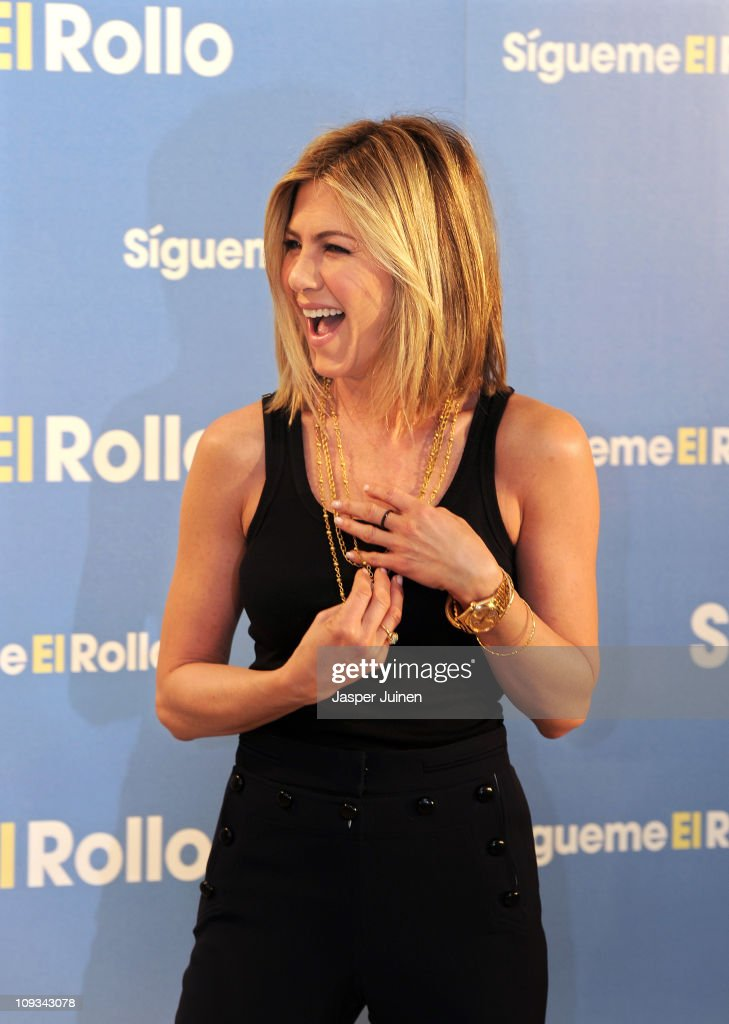 Actress Jennifer Aniston attends a photo call to promote her new movie 'Just go with it' on February 22, 2011 in Madrid, Spain.