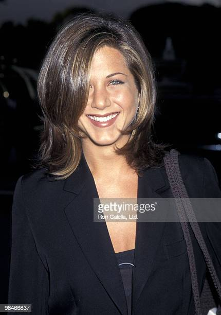 Actress Jennifer Aniston attends the 11th Annual Television Critics Association Awards on July 21 1995 at RitzCarlton Hotel in Pasadena California