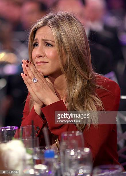 Actress Jennifer Aniston attends the 20th annual Critics' Choice Movie Awards at the Hollywood Palladium on January 15 2015 in Los Angeles California