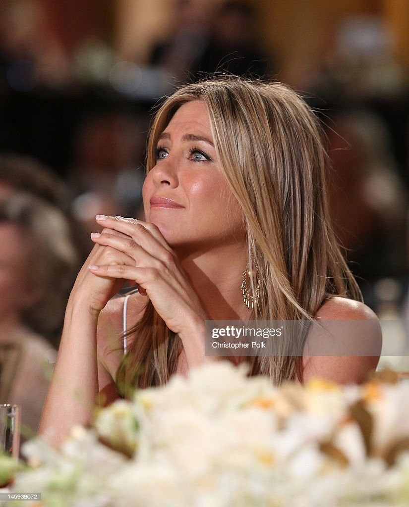 Actress Jennifer Aniston attends the 40th AFI Life Achievement Award honoring Shirley MacLaine held at Sony Pictures Studios on June 7, 2012 in Culver City, California. The AFI Life Achievement Award tribute to Shirley MacLaine will premiere on TV Land on Saturday, June 24 at 9PM