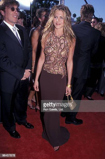 Actress Jennifer Aniston attends the 51st Annual Primetime Emmy Awards on September 12 1999 at Shrine Auditorium in Los Angeles California