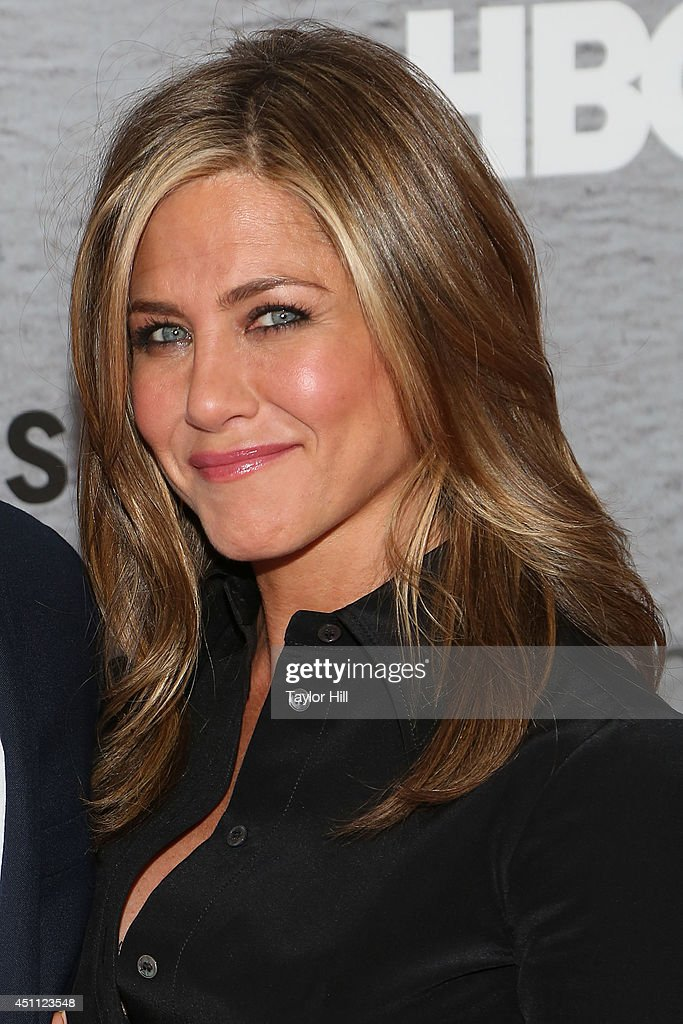 Actress <a gi-track='captionPersonalityLinkClicked' href=/galleries/search?phrase=Jennifer+Aniston&family=editorial&specificpeople=202048 ng-click='$event.stopPropagation()'>Jennifer Aniston</a> attends 'The Leftovers' premiere at NYU Skirball Center on June 23, 2014 in New York City.