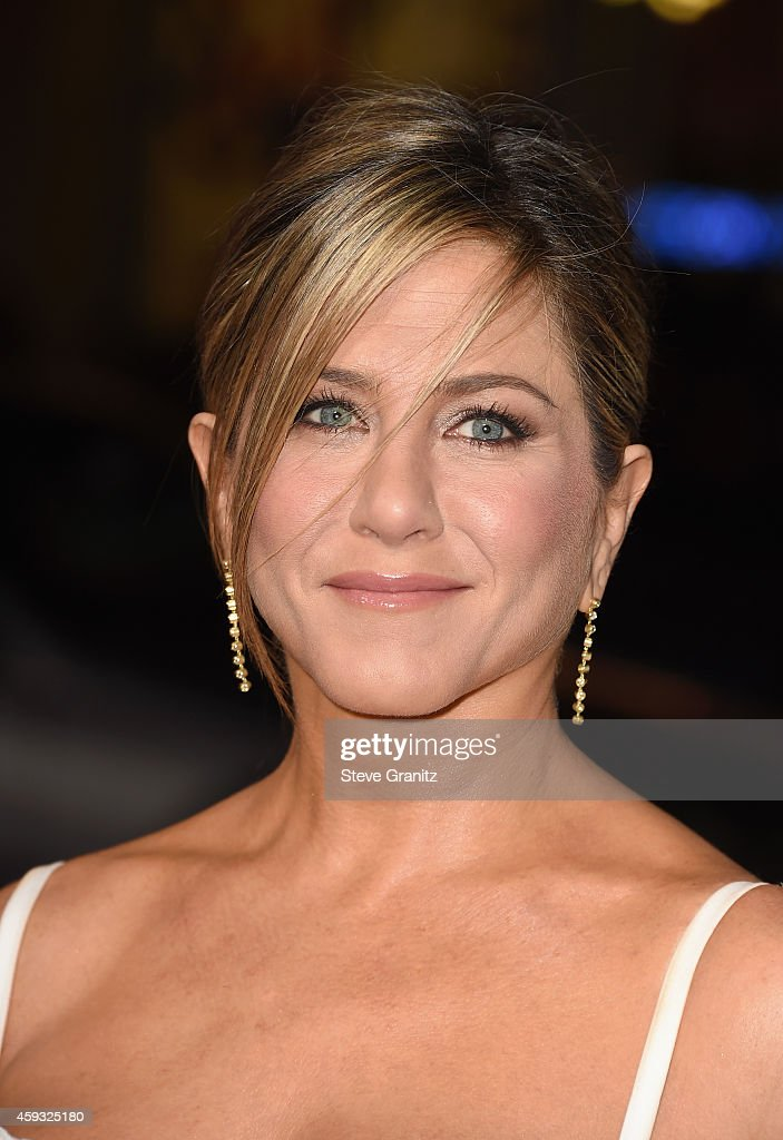 Actress Jennifer Aniston attends the Los Angeles premiere of 'Horrible Bosses 2' at TCL Chinese Theatre on November 20 2014 in Hollywood California