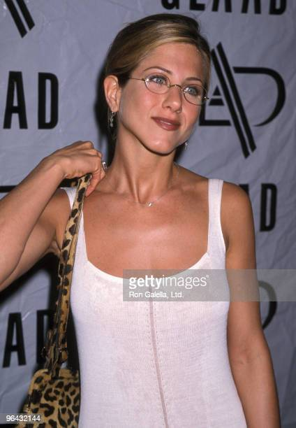 Actress Jennifer Aniston attends the Ninth Annual GLAAD Media Awards on April 19 1998 at Century Plaza Hotel in Los Angeles California