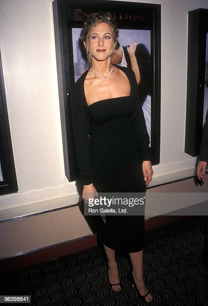 Actress Jennifer Aniston attends 'The Object of My Affection' New York City Premiere on April 15 1998 at City Cinema Village East in New York City