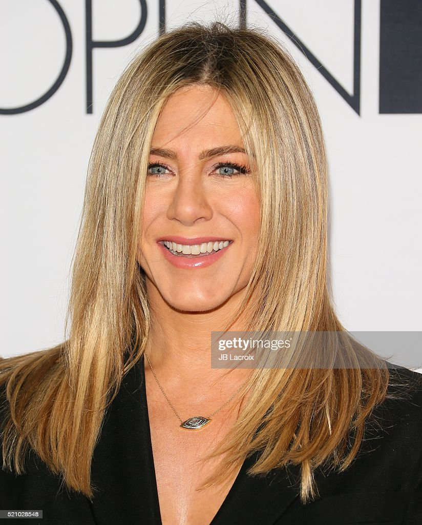 Actress Jennifer Aniston attends the Open Roads world premiere of 'Mother's Day' held at TCL Chinese theatre on April 13, 2016 in Hollywood, California.