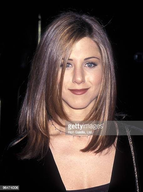 Actress Jennifer Aniston attends the St Jude Children's Research Hospital's 35th Anniversary Gala on March 7 1997 at Beverly Hilton Hotel in Beverly...