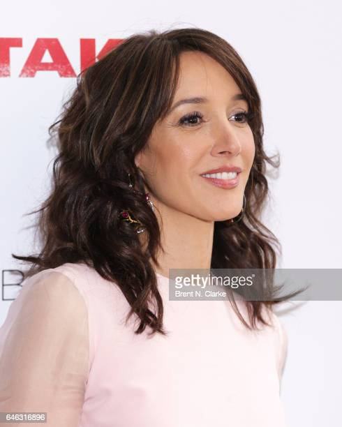 Actress Jennifer Beals attends Mamarazzi In Conversation with Jennifer Beals held at Upstairs NYC at The Kimberly Hotel on February 28 2017 in New...