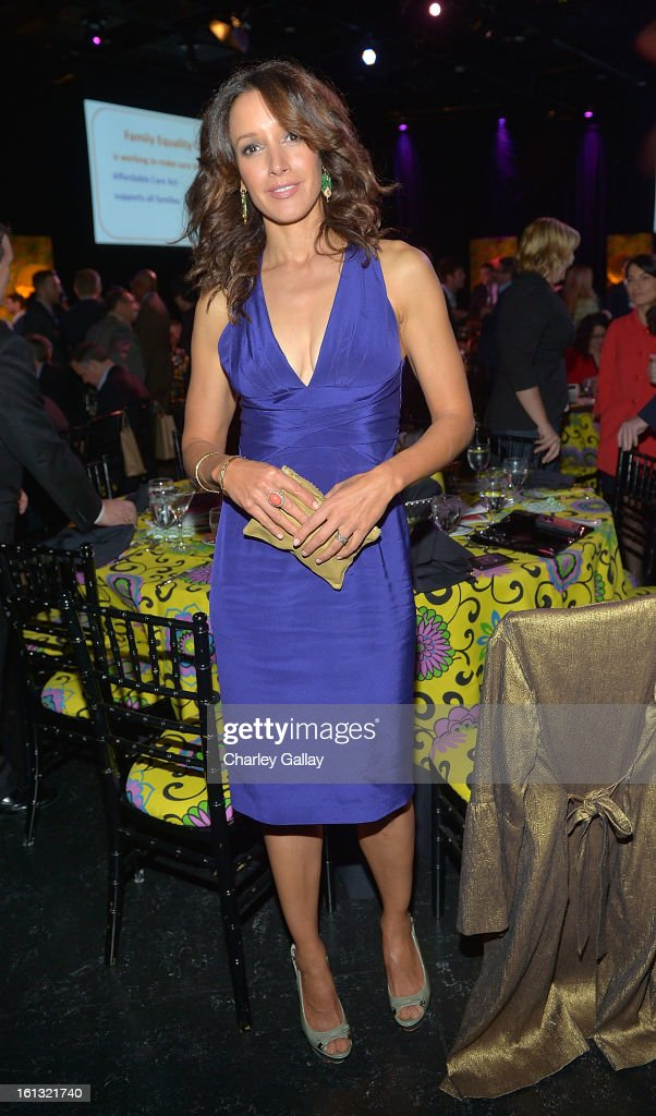 Actress Jennifer Beals attends the Family Equality Council LA Awards Dinner at The Globe Theatre at Universal Studios on February 9, 2013 in Universal City, California.