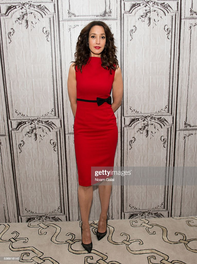 Actress Jennifer Beals visits AOL Build to discuss her role in NBC's 'The Night Shift' at AOL Studios In New York on June 1 2016 in New York City