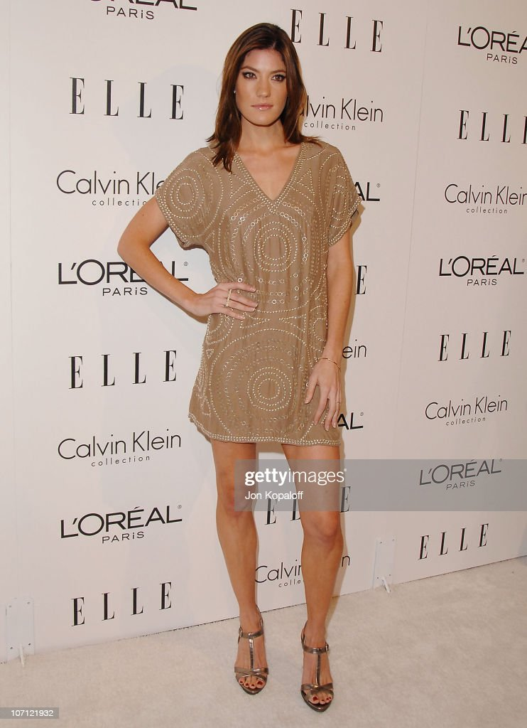 Actress <a gi-track='captionPersonalityLinkClicked' href=/galleries/search?phrase=Jennifer+Carpenter&family=editorial&specificpeople=595643 ng-click='$event.stopPropagation()'>Jennifer Carpenter</a> arrives at ELLE's 16th Annual Women In Hollywood Event at the Four Seasons Hotel on October 19, 2009 in Beverly Hills, California.