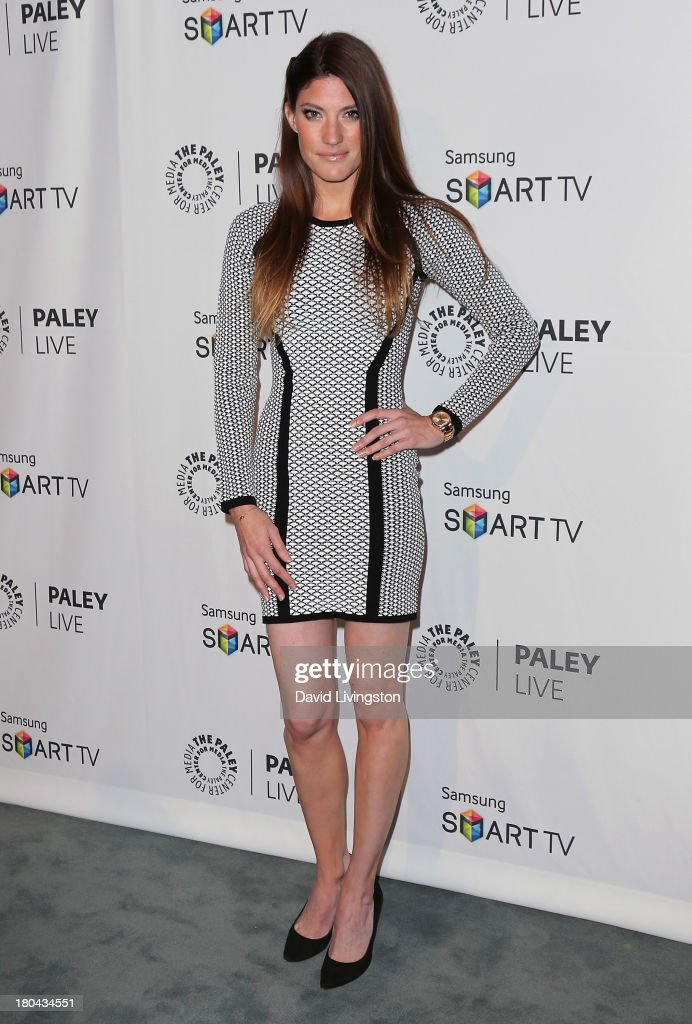 Actress <a gi-track='captionPersonalityLinkClicked' href=/galleries/search?phrase=Jennifer+Carpenter&family=editorial&specificpeople=595643 ng-click='$event.stopPropagation()'>Jennifer Carpenter</a> attends PaleyFestPreviews: Fall TV - Fall Farewell: 'Dexter' at The Paley Center for Media on September 12, 2013 in Beverly Hills, California.