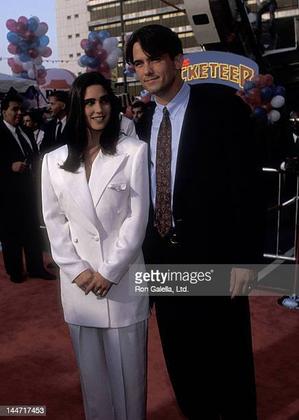 Actress Jennifer Connelly and actor Billy Campbell attend 'The Rocketeer' Hollywood Premiere in conjuction with the El Capital Theatre RibbonCutting...