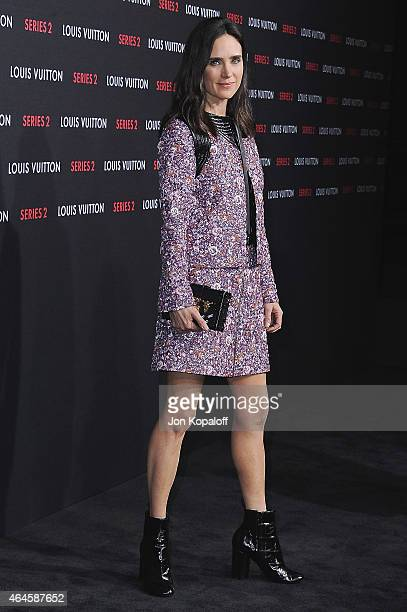 Actress Jennifer Connelly arrives at Louis Vuitton 'Series 2' The Exhibition on February 5 2015 in Hollywood California