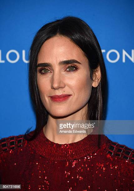 Actress Jennifer Connelly arrives at the 6th Biennial UNICEF Ball at the Beverly Wilshire Four Seasons Hotel on January 12 2016 in Beverly Hills...
