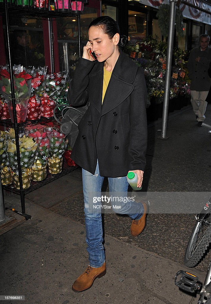 Actress Jennifer Connelly as seen on December 5, 2012 in New York City.