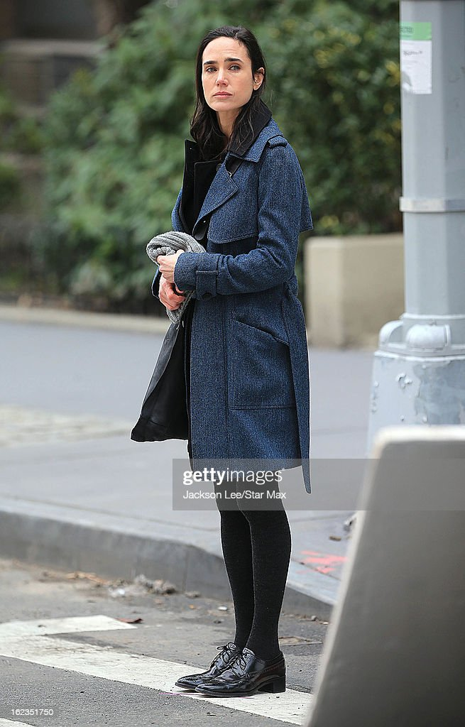 Actress <a gi-track='captionPersonalityLinkClicked' href=/galleries/search?phrase=Jennifer+Connelly&family=editorial&specificpeople=201581 ng-click='$event.stopPropagation()'>Jennifer Connelly</a> as seen on February 20, 2013 in New York City.