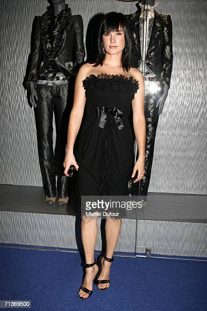 Actress Jennifer Connelly attends a retrospective of the work of Cristobal Balenciaga at the Museum of Fashion and Textiles July 4 2006 in Paris...