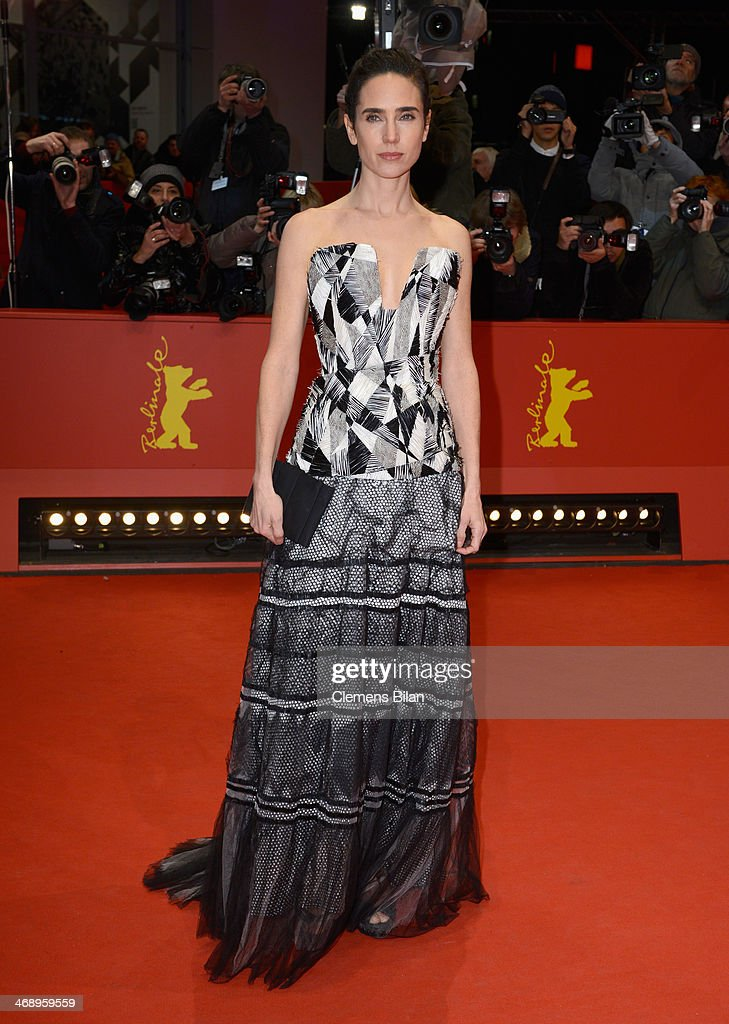 Actress Jennifer Connelly attends 'Aloft' premiere during 64th Berlinale International Film Festival at Berlinale Palast on February 12, 2014 in Berlin, Germany.