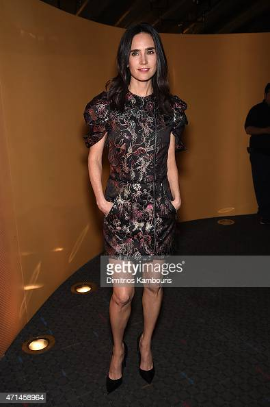 Actress Jennifer Connelly attends The Cinema Society Audi screening of Marvel's 'Avengers Age of Ultron' at SVA Theater on April 28 2015 in New York...