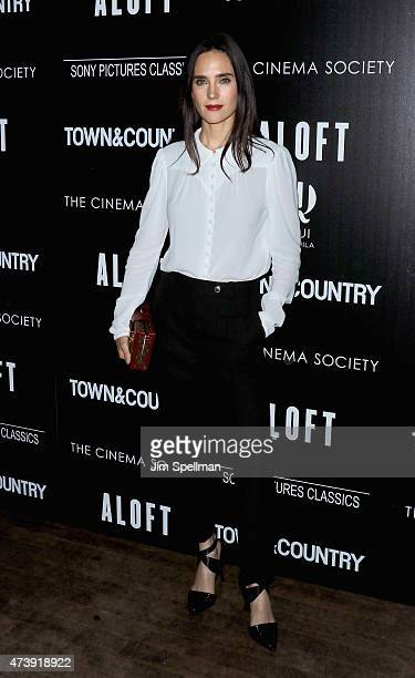 Actress Jennifer Connelly attends The Cinema Society with Town Country host a special screening of Sony Pictures Classics' 'Aloft' at Tribeca Grand...