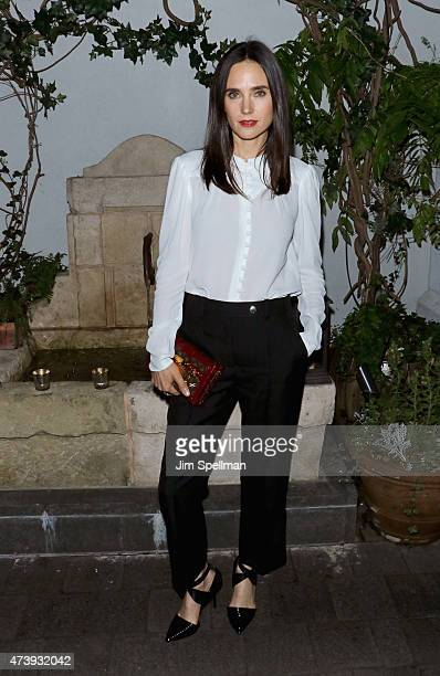 Actress Jennifer Connelly attends The Cinema Society with Town Country host a special screening of Sony Pictures Classics' 'Aloft' After Party at...